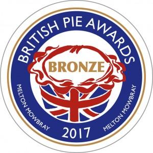 BritishPie2017Bronze