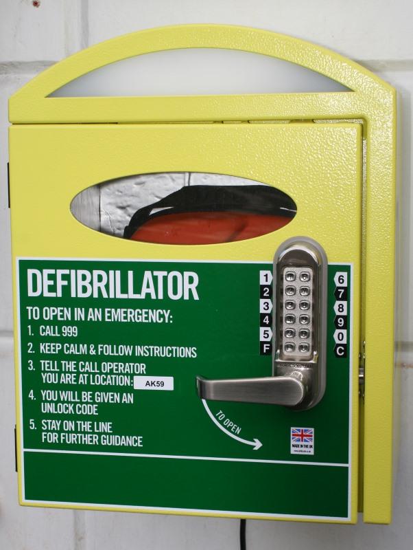 The Bell Hotel - Winslow - Defibrillator