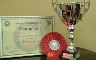 Champion Pub Pie at British Pie Awards
